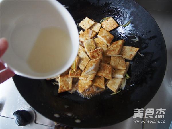 葱烧豆腐怎么炒