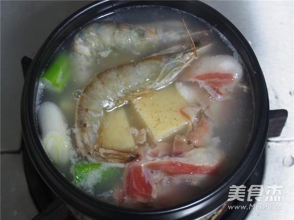 浓汤单人火锅怎么吃