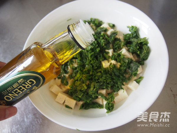 香椿芽拌豆腐怎么炒