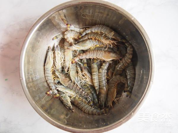 白灼竹节虾#丘比沙拉汁#的做法大全