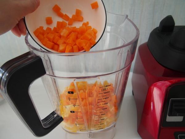 胡萝卜蜜橙汁怎么吃
