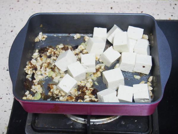 八宝酱烧豆腐怎么炒