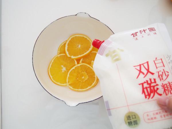 香橙蛋糕卷的做法图解