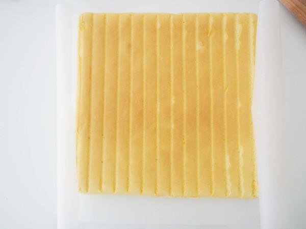 香橙蛋糕卷的制作