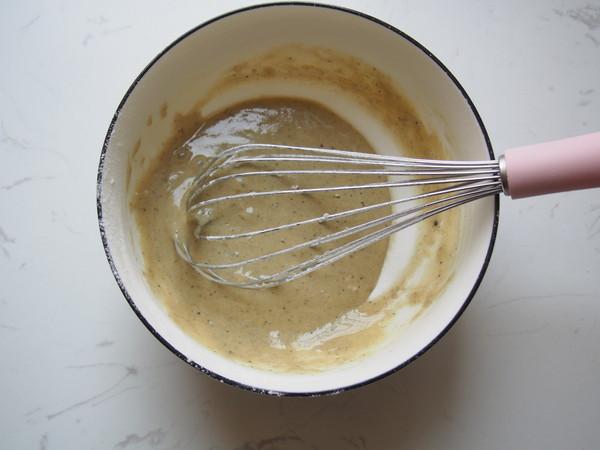 美味黑芝麻玛德琳的简单做法