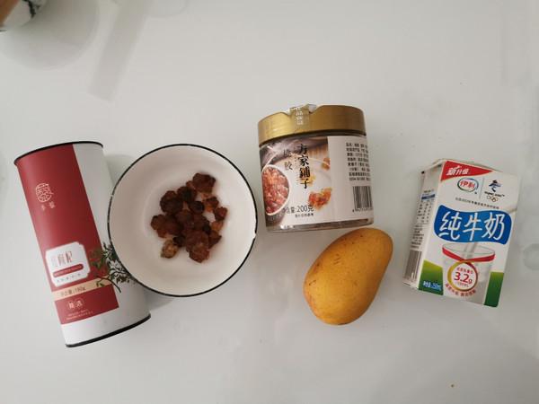 牛奶芒果桃胶的做法大全