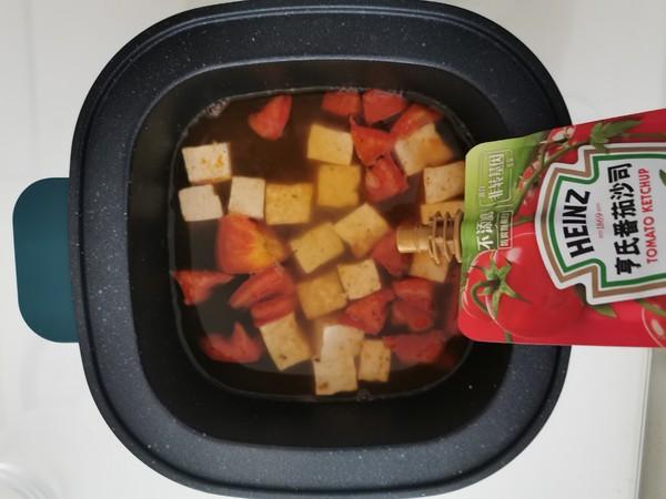 酸酸美味的番茄豆腐疙瘩汤的简单做法