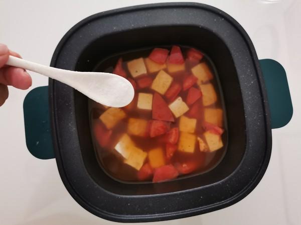 酸酸美味的番茄豆腐疙瘩汤怎么吃