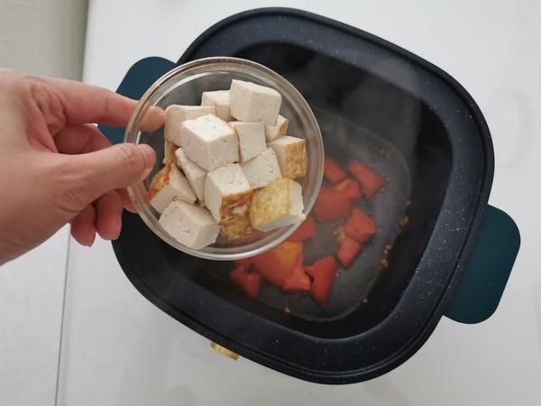 酸酸美味的番茄豆腐疙瘩汤的家常做法