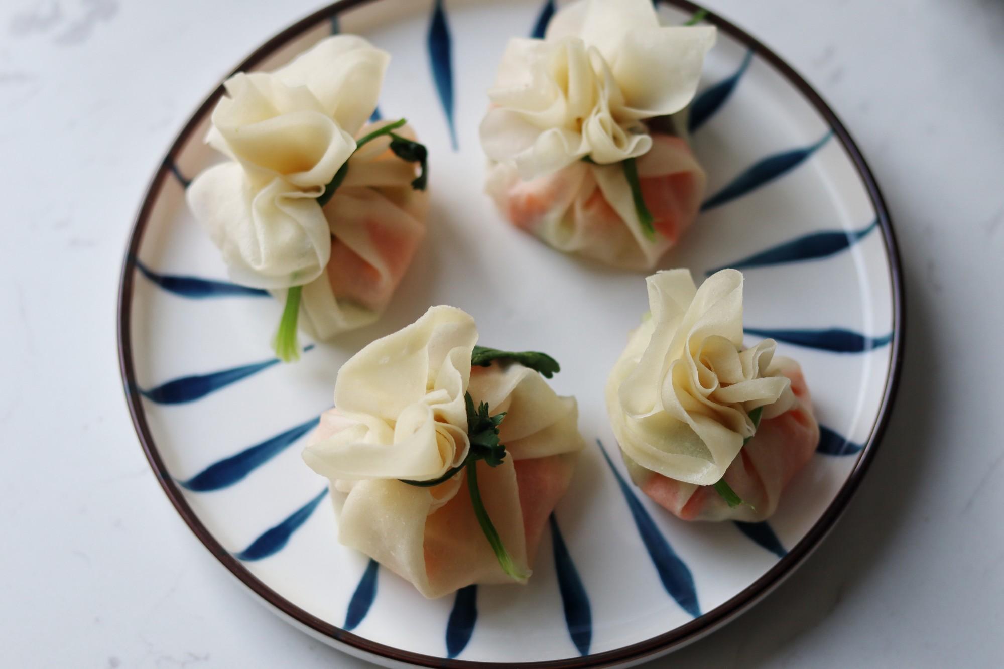 彩疏豆腐福袋的简单做法