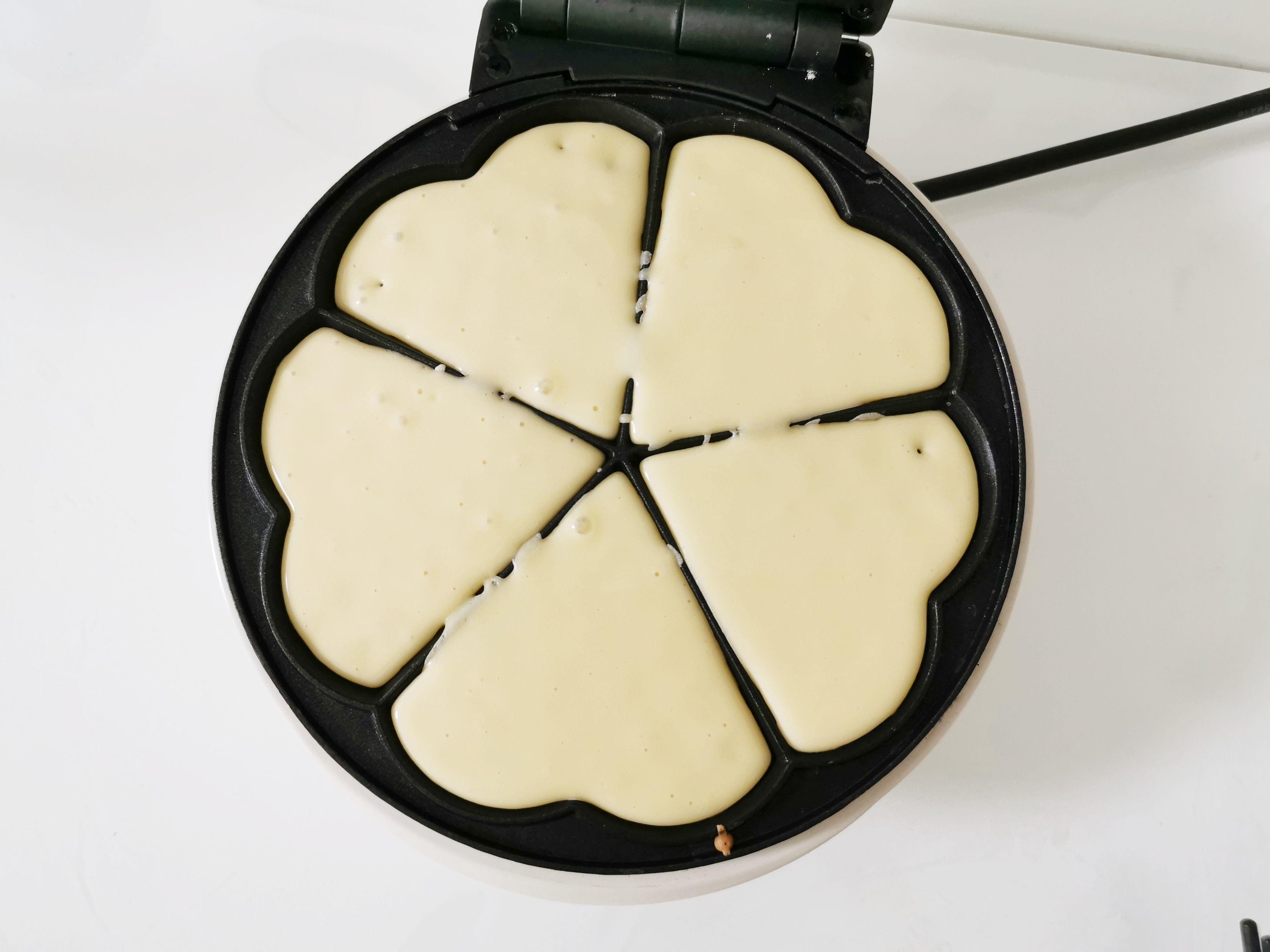 椰香华夫饼怎么做