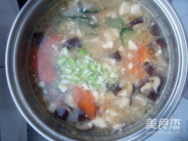 双菇豆腐汤怎么炒