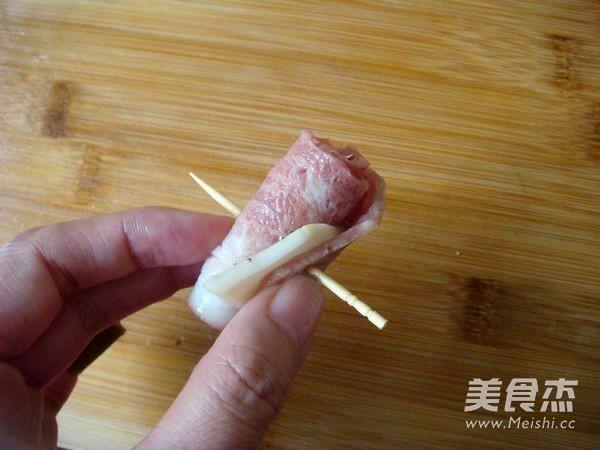 黑椒培根杏鲍菇怎么炒