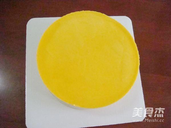 芒果慕斯小花朵蛋糕的制作大全