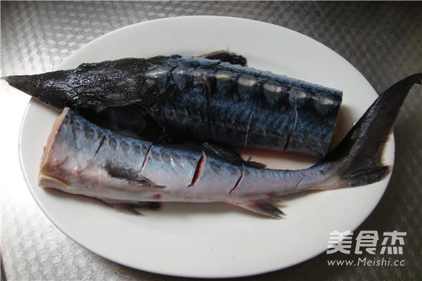 清蒸鲟鱼的做法图解