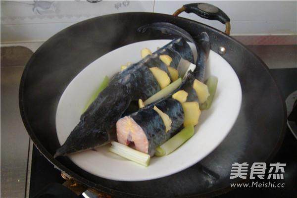 清蒸鲟鱼的简单做法