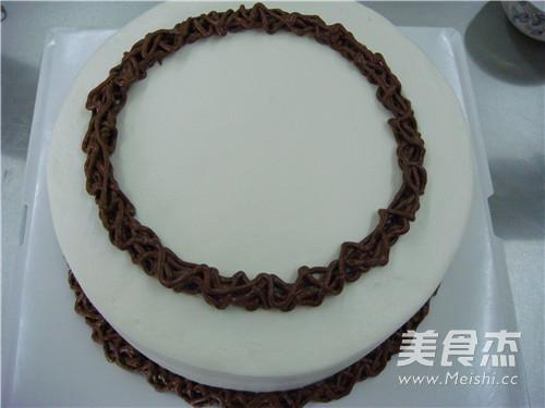 小红花环蛋糕的制作大全