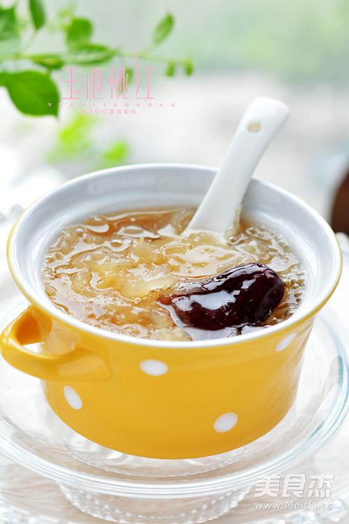 苏泊尔·皂角米银耳红枣汤成品图