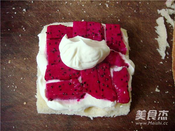 吐司水果奶油三明治怎么煮