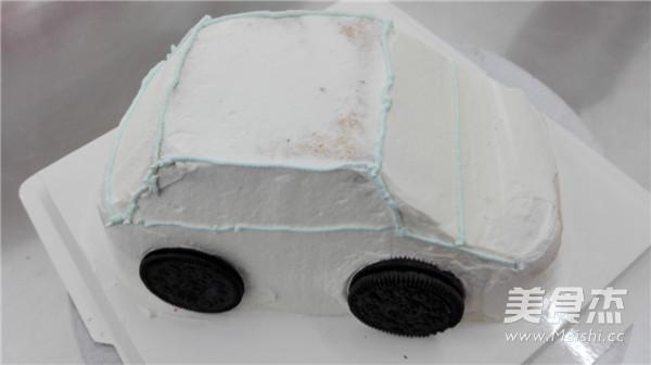 小汽车蛋糕怎样煮