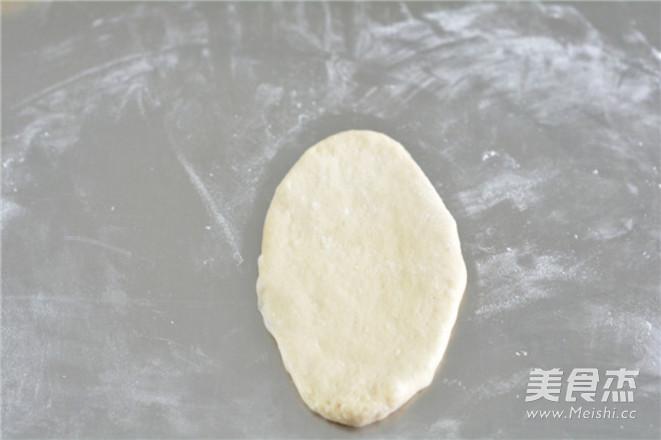 蔓越莓椰蓉面包的步骤