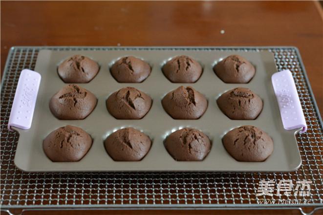 巧克力玛德琳的步骤