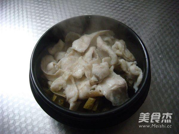 酸菜鱼的制作