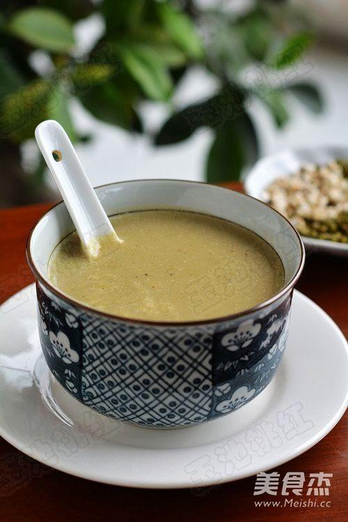 绿豆薏米豆浆怎么吃