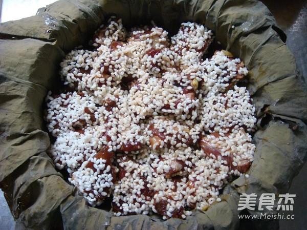 荷叶糯米蒸排骨怎么做