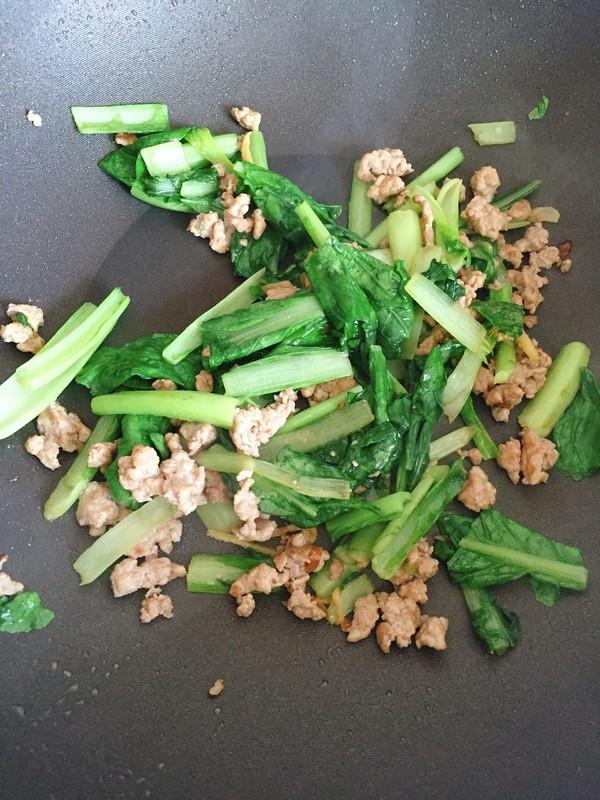 肉沫小白菜怎么做