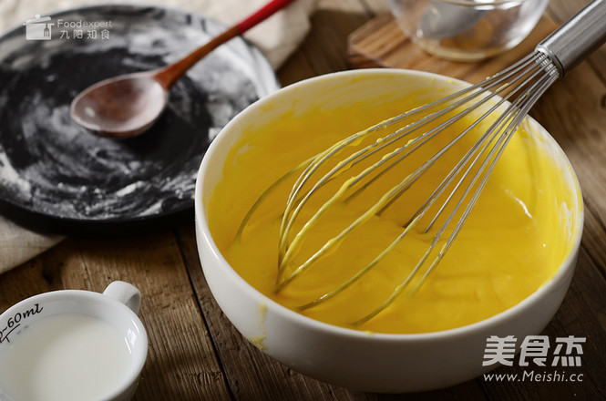 蓝莓奶油电饭煲蛋糕的简单做法