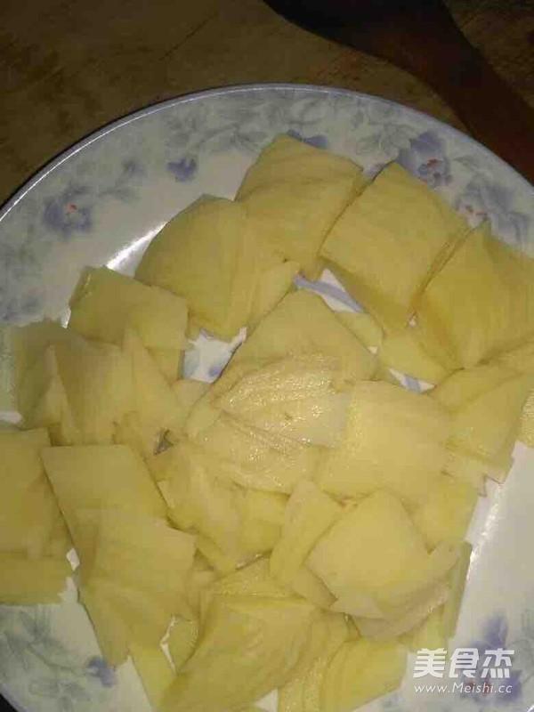 辣椒土豆片的做法图解