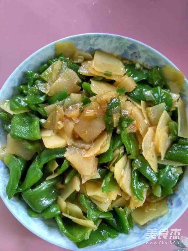 辣椒土豆片的简单做法