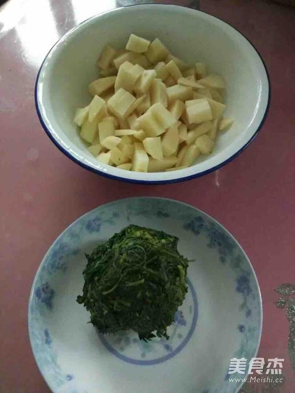 芥菜炖土豆的做法图解
