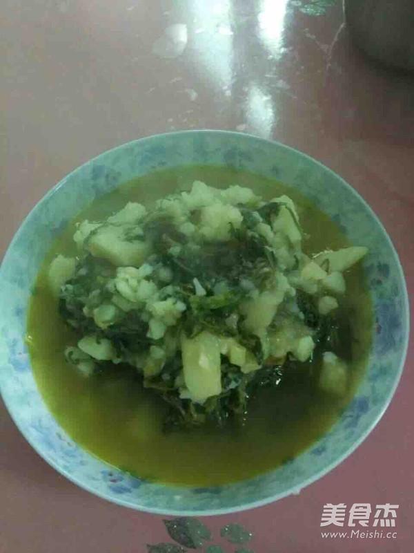 芥菜炖土豆的简单做法