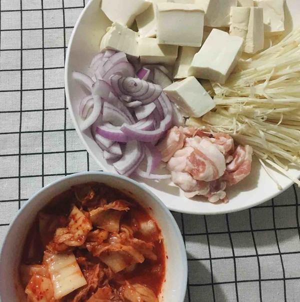韩式泡菜豆腐汤的做法大全
