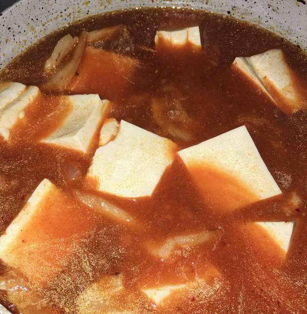韩式泡菜豆腐汤怎么炒