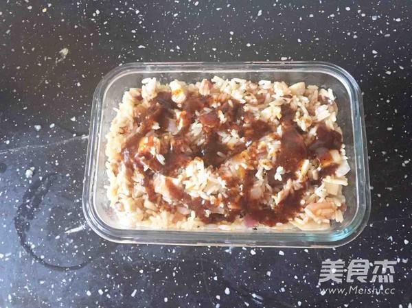 香菇培根焗饭的步骤
