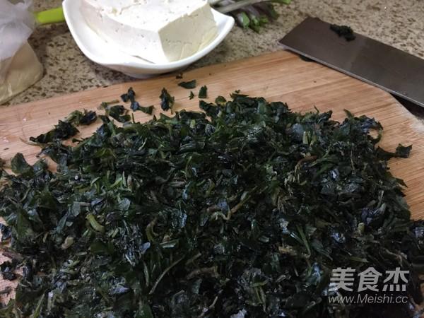 马兰头炒豆腐的简单做法