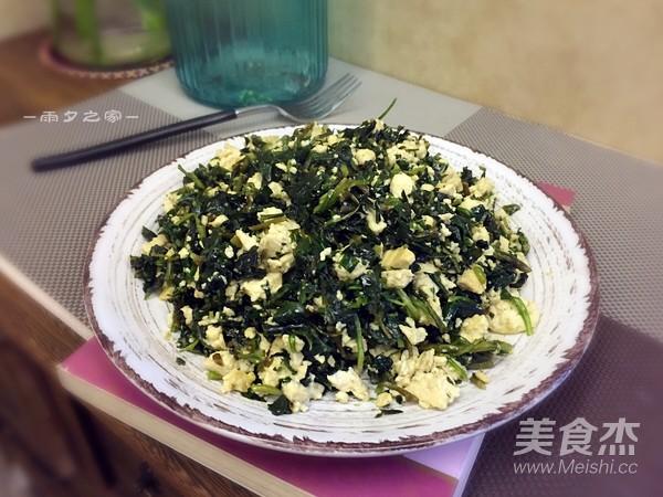马兰头炒豆腐怎么煮