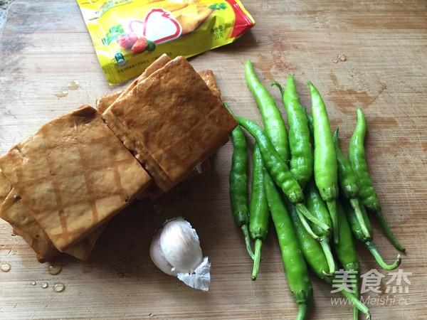 青椒炒香干豆腐的做法大全