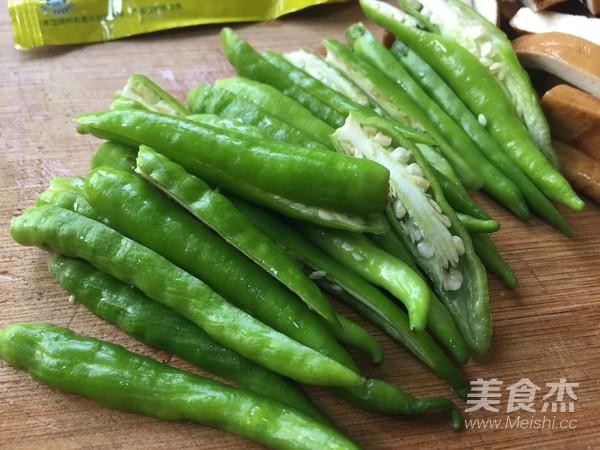 青椒炒香干豆腐的家常做法