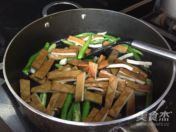 青椒炒香干豆腐怎么煮