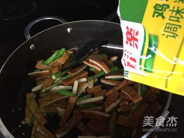 青椒炒香干豆腐怎样煸