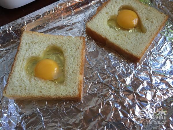 爱心太阳蛋吐司怎么炒