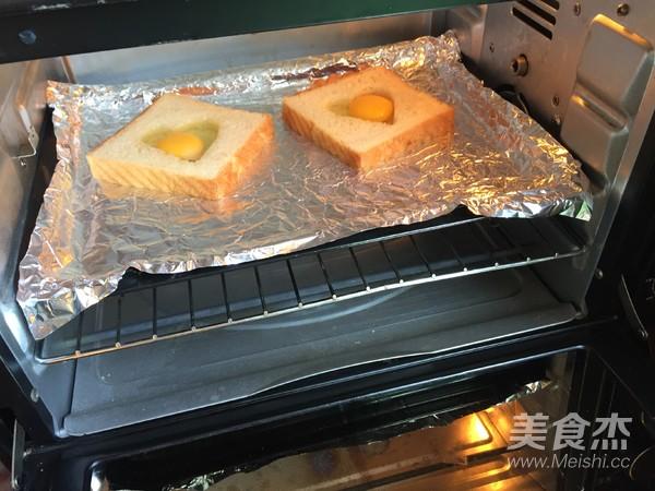 爱心太阳蛋吐司怎么煮