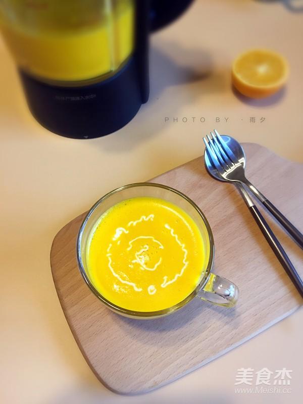 奶油南瓜汤成品图
