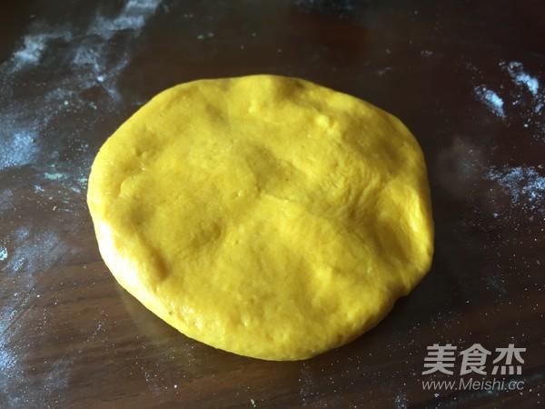 南瓜刺猬豆沙包怎么做