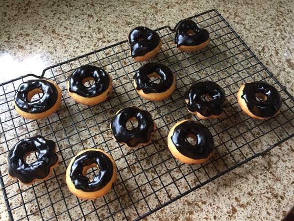 巧克力甜甜圈的制作大全