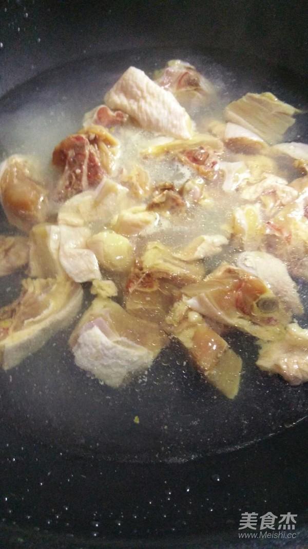 香菇鸡块焖饭的做法图解